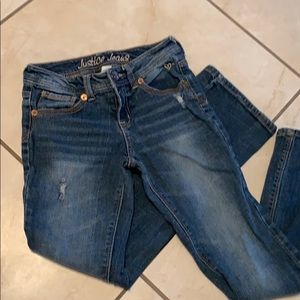 JUSTICE JEANS GIRLS 10R